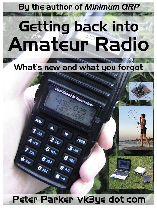 Getting back into Amateur Radio - click here for more